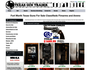 Access Fort Worthtexasguntradercom Fort Worth Buy Sell Trade