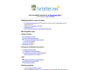 forteller.net screenshot