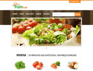 fortfruitnordeste.com.br screenshot