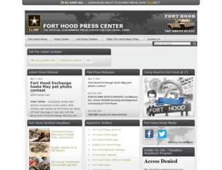forthoodpresscenter.com screenshot