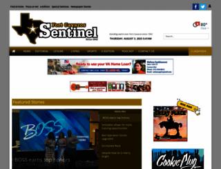 forthoodsentinel.com screenshot