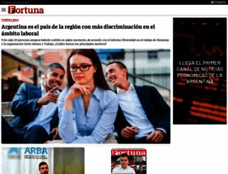 fortunaweb.com.ar screenshot