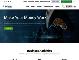 fortunesecurities.com screenshot