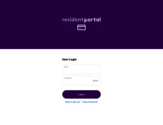 forty55.residentportal.com screenshot