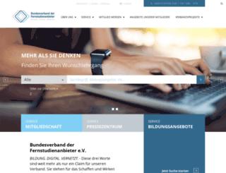 forum-distance-learning.de screenshot