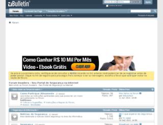 forum-invaders.com.br screenshot