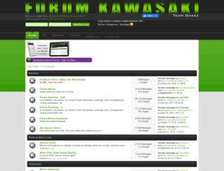 forum-kawasaki.teamgaaaz.com screenshot