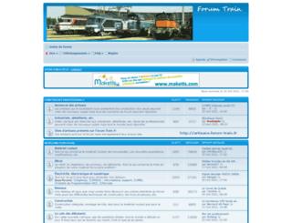 forum-train.fr screenshot