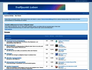 forum-treffpunkt-leben.de screenshot