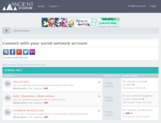 forum.ancient-code.com screenshot