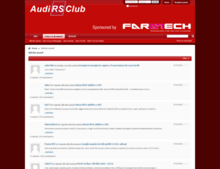 forum.audirsclub.it screenshot