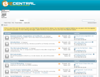 forum.bizcentral.com screenshot