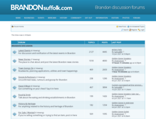 forum.brandonsuffolk.com screenshot