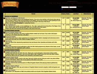 forum.candlekeep.com screenshot