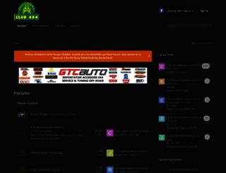 forum.club4x4.ro screenshot
