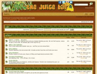 forum.dodojuice.com screenshot