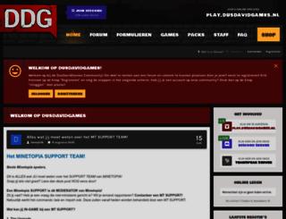 forum.dusdavidgames.nl screenshot