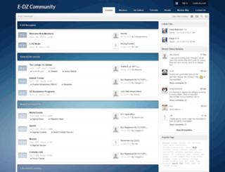 forum.e-dz.com screenshot