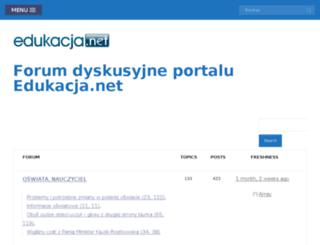 forum.edukacja.net screenshot