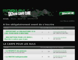 forum.extreme-carpe.com screenshot
