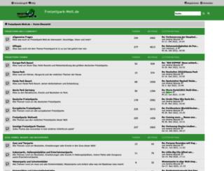 forum.freizeitpark-welt.de screenshot