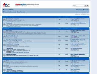 forum.ftcommunity.de screenshot