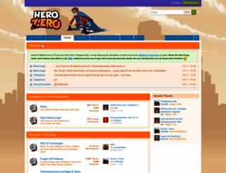 forum.herozerogame.com screenshot