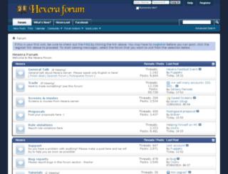 forum.hexera.net screenshot