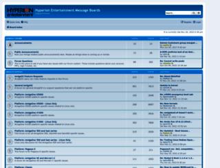 forum.hyperion-entertainment.biz screenshot
