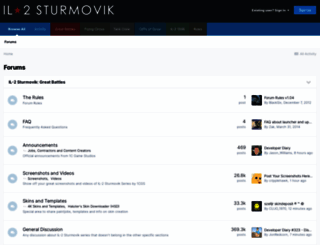 forum.il2sturmovik.com screenshot