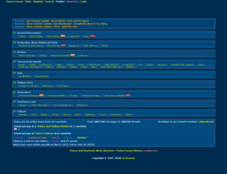 forum.isratrance.com screenshot