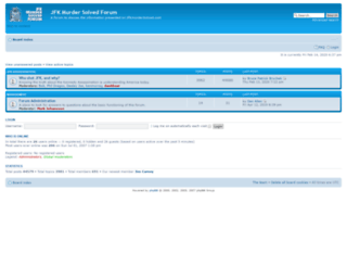 forum.jfkmurdersolved.com screenshot