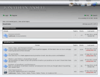 forum.jonathanansell.com screenshot
