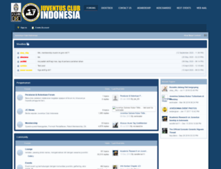 forum.juventusclubindonesia.com screenshot