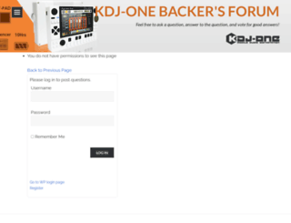 forum.kdj-one.com screenshot