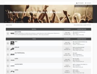 forum.laboitenoiredumusicien.com screenshot