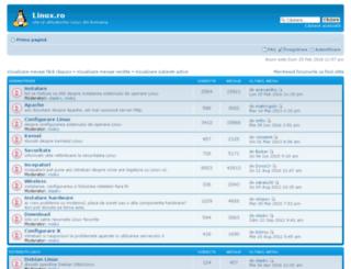 forum.linux.ro screenshot