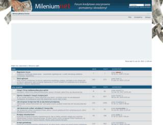forum.mileniumnet.pl screenshot