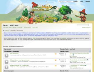 forum.miramagia.ru screenshot