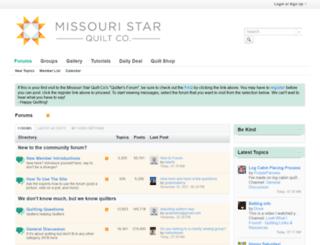 Access forum.missouriquiltco.com. The Quilting Forum - Missouri ... : missouri star quilt company forum - Adamdwight.com