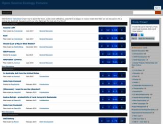 forum.opensourceecology.org screenshot