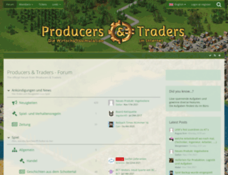 forum.producers-and-traders.de screenshot