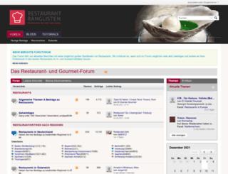 forum.restaurant-ranglisten.de screenshot