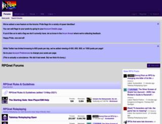forum.rpg.net screenshot