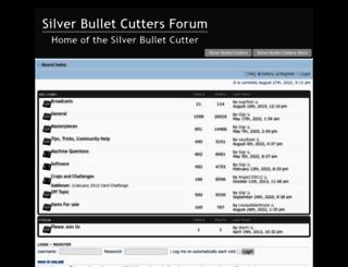 forum.silverbulletcutters.com screenshot