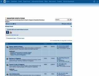 forum.singaporeexpats.com screenshot