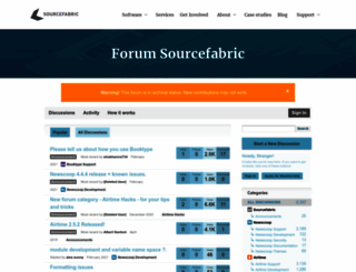 forum.sourcefabric.org screenshot