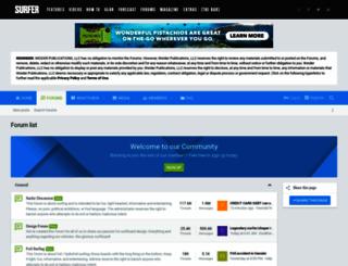 forum.surfermag.com screenshot