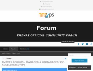 forum.tmzvps.com screenshot