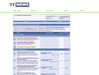 forum.tt-news.de screenshot